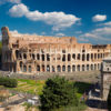 Quais monumentos podem ser visitados à noite nas principais cidades turisticas da Itália?