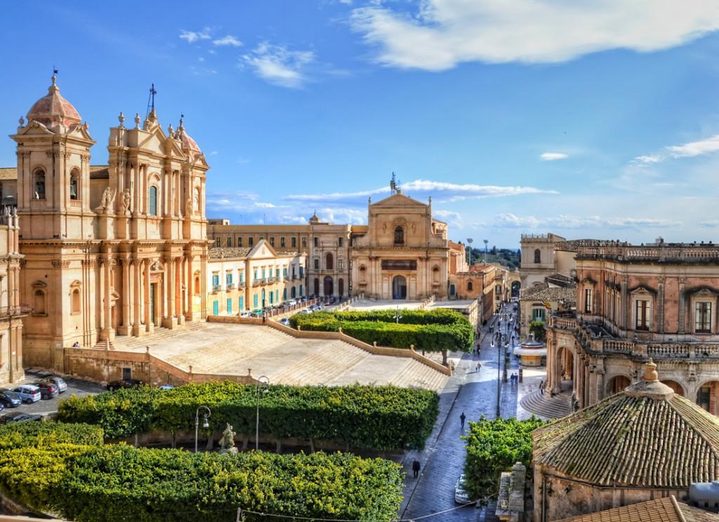 Visitar Noto em Sicilia