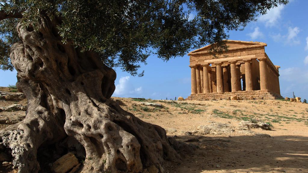 Visitar Agrigento valle dei templi, sicilia, italia