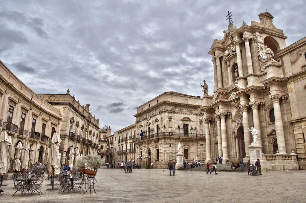 Praça do Duomo, Siracusa